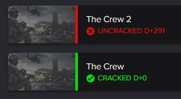 The Crew 2 Crack Status | CrackWatch