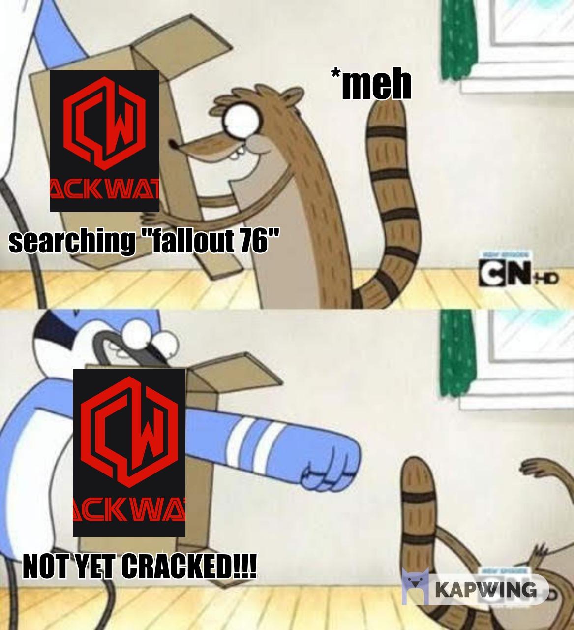 Fallout 76 Crack Status   CrackWatch