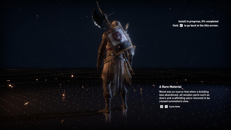 Assassin S Creed Origins Stuck On Animus Loading Screen Crackwatch